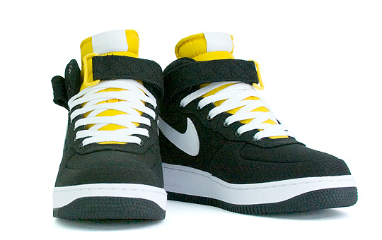 air force 1 mid gialle