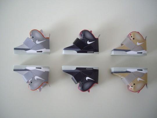 Origami Nike Air Yeezy Sneakers By Filippo Perin Sidewalk Hustle