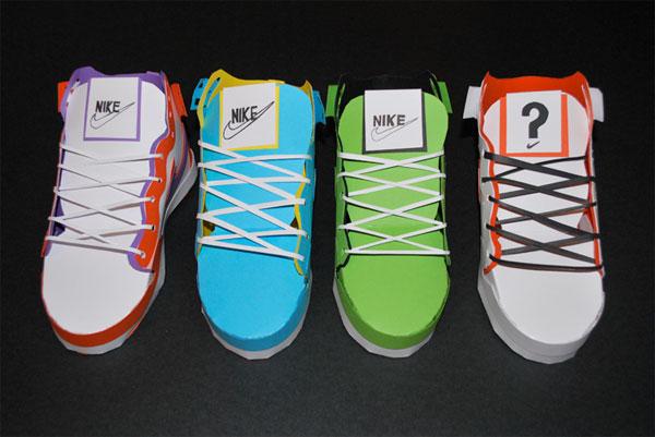 papercraft-nike-sneakers