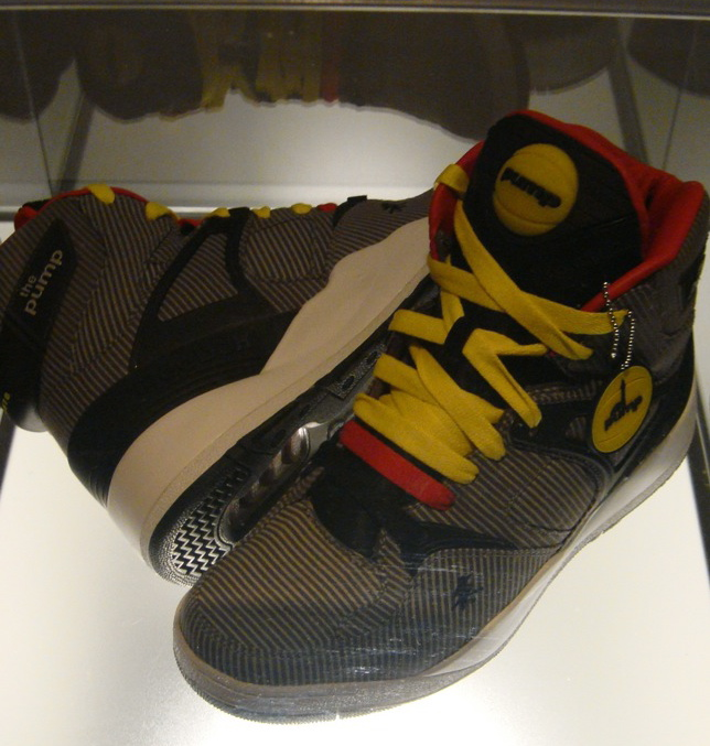 I thought I would show some more pictures of actual shoes from the Reebok  Pump 20th Anniversary Celebration from the other night. 079d10361