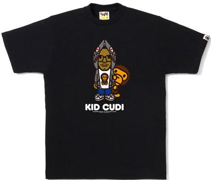 91a7594a LA BAPE® Kid Cudi x Milo T-Shirts | Sidewalk Hustle