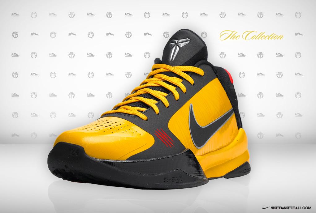 more photos 54bfe 187e1 Nike Zoom Kobe V Bruce Lee Sneaker!