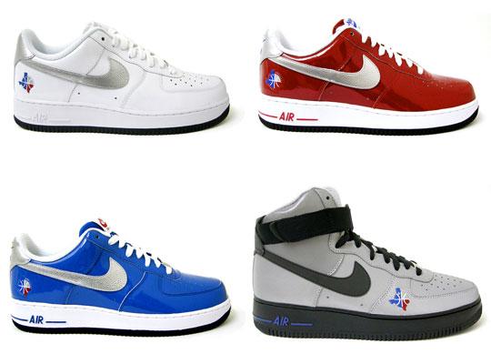 half off e5a8a 8e432 Nike Air Force 1 QS All Star 2010 Pack | Sidewalk Hustle