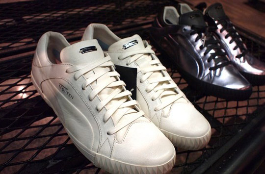 35dbcb70b5277d Alexander McQueenAlexander McQueen for PUMA Autumn/Winter 2010 PreviewHigh- topsLow ...