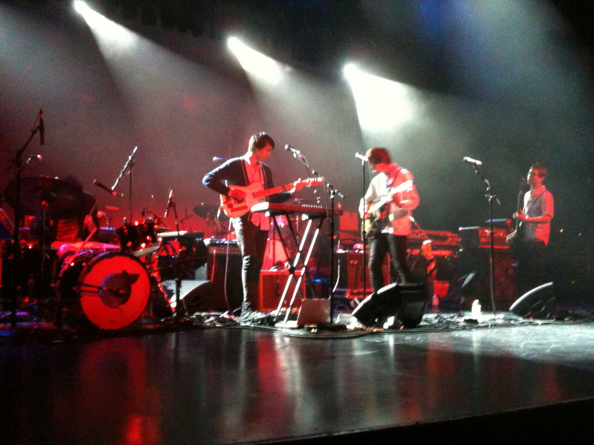 The Morning Benders at Queen Elizabeth Theatre June 2010