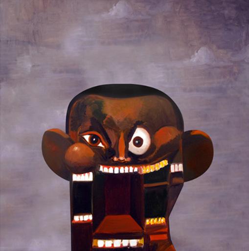 kanye west power album art. George Condo for Kanye West#39;s