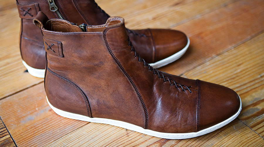 Helm Handmade Boots Sidewalk Hustle