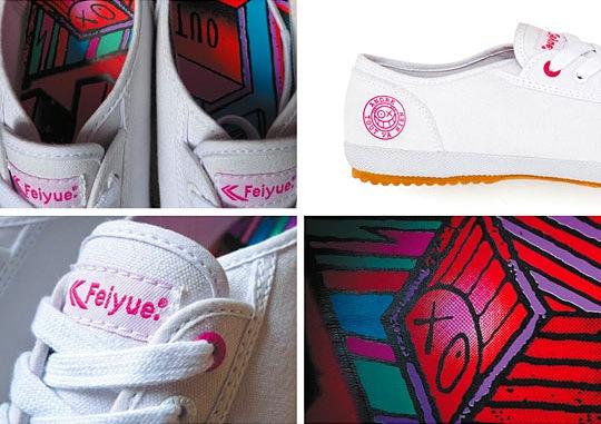 Feiyue x Andre Sneakers