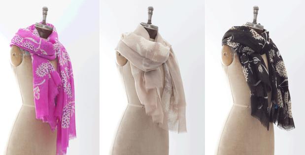 virginia johnson scarves sidewalk hustle