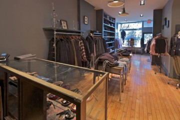 Oliver Spencer Toronto Boutique