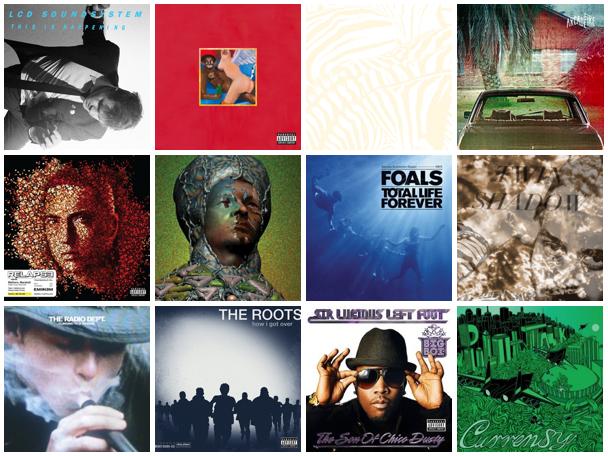 Best Albums of 2010: Mr  Banning's Picks   Sidewalk Hustle