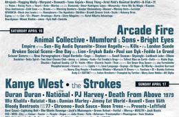 Coachella Official 2011 Line-Up