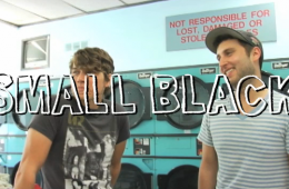 Small Black on Dirty Laundry TV