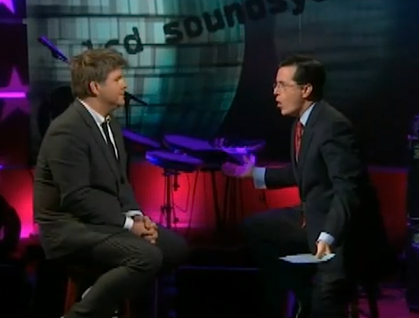 LCD Soundsystem on Colbert Report