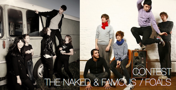 The Naked & Famous and Foals in Toronto
