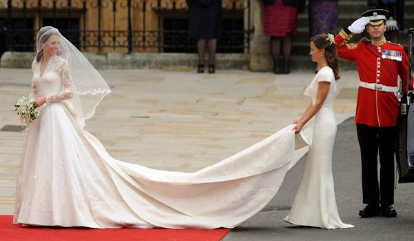 Kate Middleton Wears Sarah Burton for Alexander McQueen