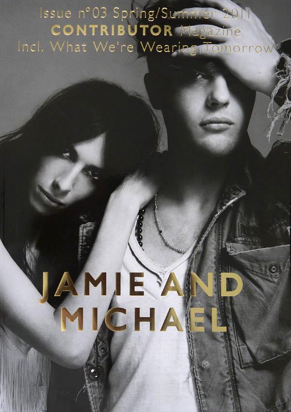 Michael Pitt couple