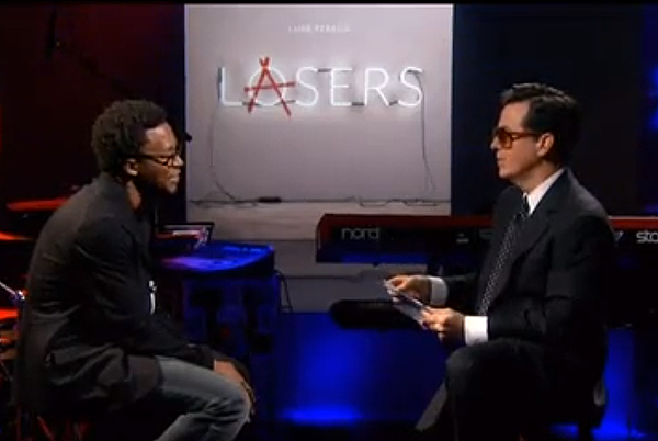 Lupe Fiasco Skylar Grey Colbert Report