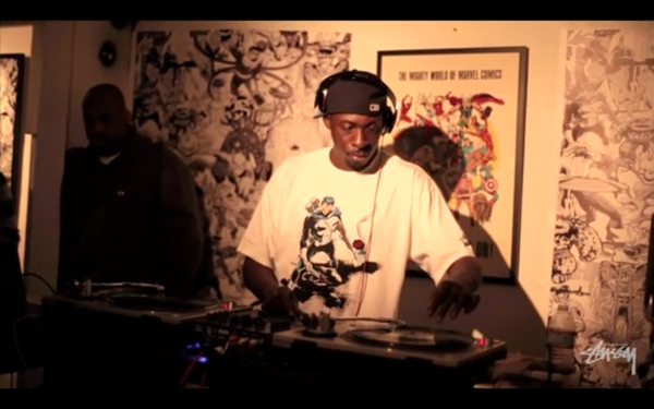 Stussy x Marvel DJ Pete Rock