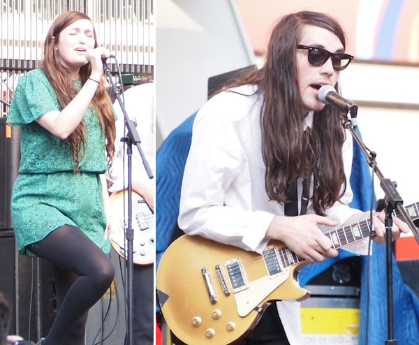 Cults at Yonge-Dundas Square Toronto NXNE 2011