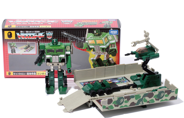 Bape x Transformers Optimus Prime Toy & Apparel