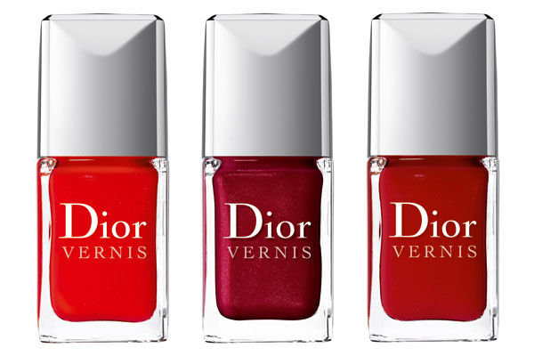 Dior Reds Nail Polish Collection