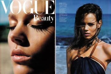 Freja Beha Erichsen for Vogue Japan July 2011
