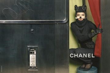 Freja Beha Erichsen Chanel F/W Karl Lagerfeld