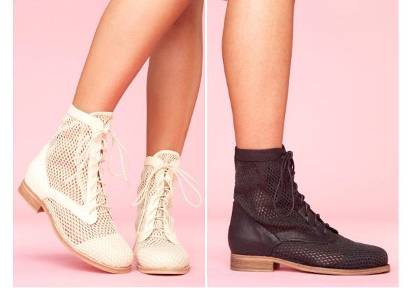 Jeffrey Campbell Gordon Mesh Boots