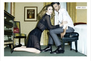 Jimmy Choo Mens Footwear FallWinter 2011 Ad Campaign