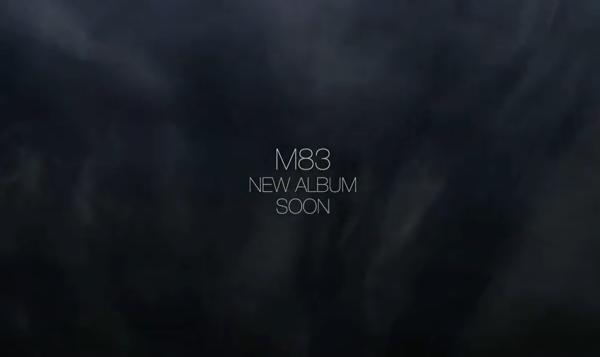 M83 New Album Teaser