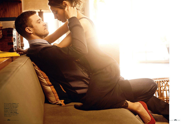 Mila Kunis Justin Timberlake Carter Smith Elle US August 2011