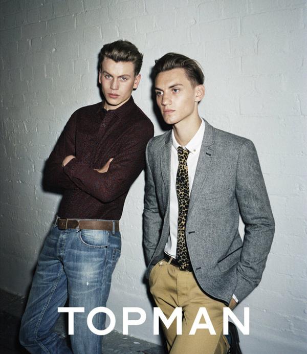 TOPMAN 2011 Fall Winter Campaign