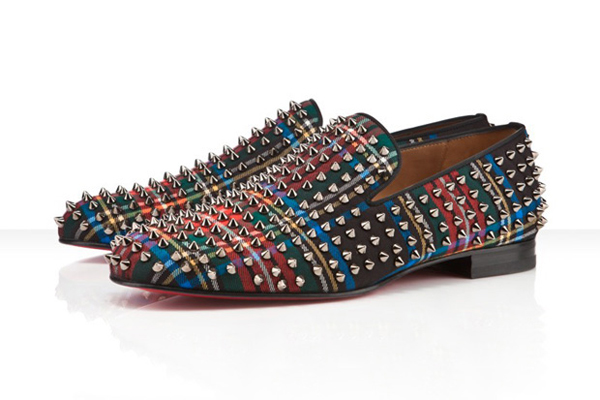 "separation shoes b520e 2e115 Christian Louboutin ""Tartan"" Rollerboy Spike Shoes. Tristan Banning August  6, 2011. 0. Here ..."
