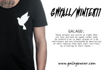 Galagowear GWFallWinter11 Video LookBook