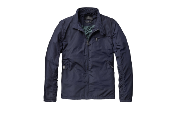 Scotch Soda Thin Padded Short Jacket Blue