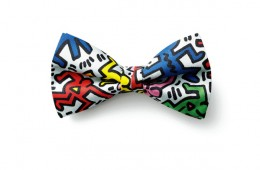 uniform experiment x Keith Haring Bowtie