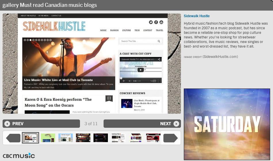 CBC Music Blog