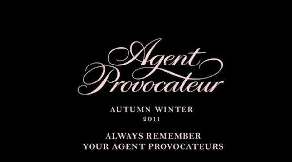 Agent Provocateur Autumn Winter 2011