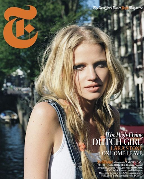 Lara Stone for T Magazine Fall 2011