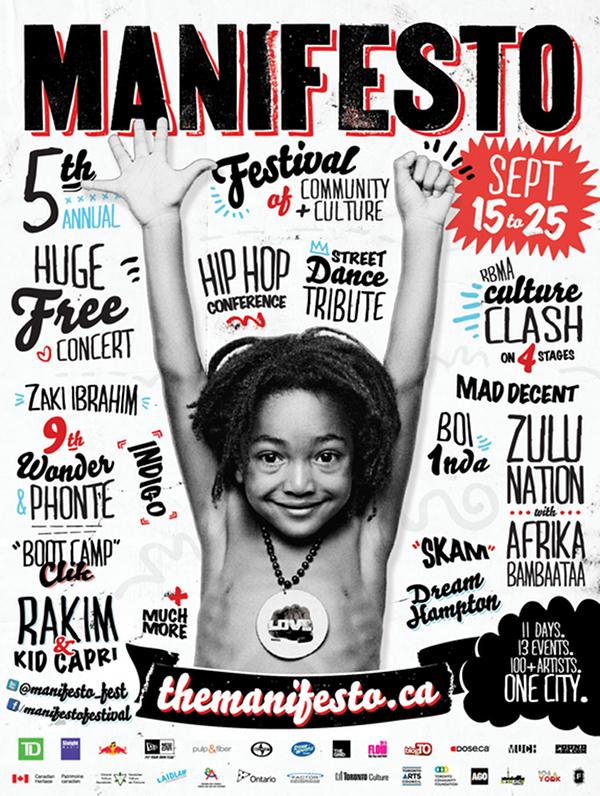 Manifesto 2011 Flyer