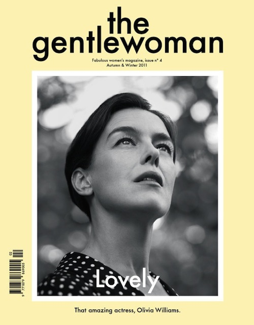 Olivia Williams for The Gentlewoman Autumn Winter 2011