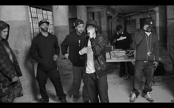 2011 BET HipHop Awards Cypher Eminem Slaughterhouse Yelawolf