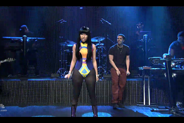 Drake Nicki Minaj Make Me Proud Saturday Night Live