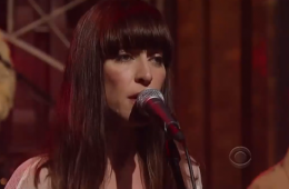 Feist Late Show With David Letterman