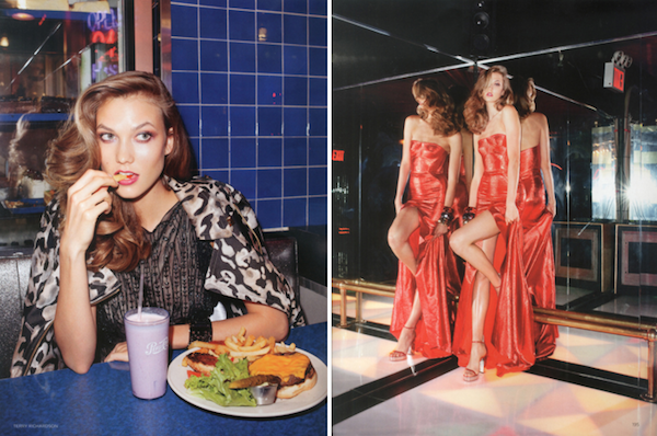 Karlie Kloss For British Vogue By Terry Richardson Sidewalk Hustle