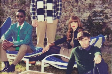 Metronomy for GQ Magazine Fall Winter 2011
