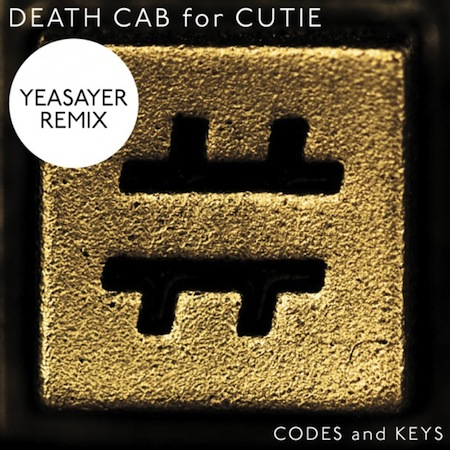 Death Cab for Cutie Codes And Keys Yeasayer Remix