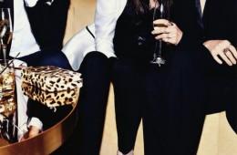 Toni Garrn, Rose Smith, David Agbodji, Ian Mellencamp, Arthur Kulkov, Charlotte Gainsbourg, Lykke Li, & Sky Ferreira For Harper's Bazaar