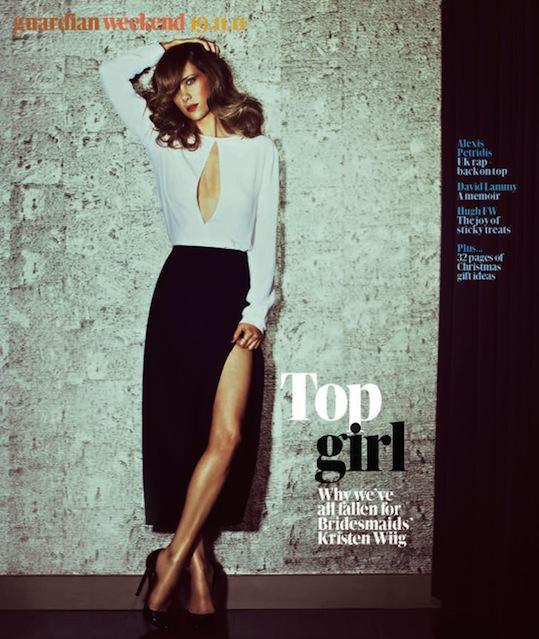 2-Kristen Wiig for The Guardian
